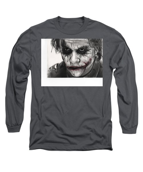Joker Face Long Sleeve T-Shirt