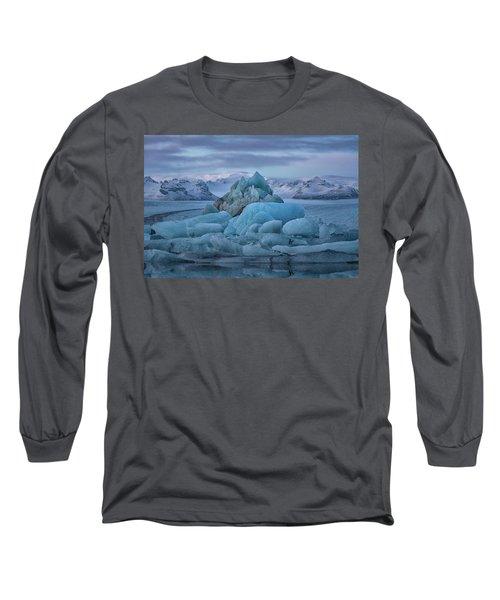 Jokulsarlon Iceland Long Sleeve T-Shirt