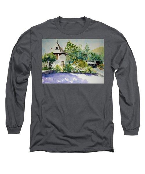 Jose Moya Del Pino Library At Marin Arts And Garden Center Long Sleeve T-Shirt by Tom Simmons