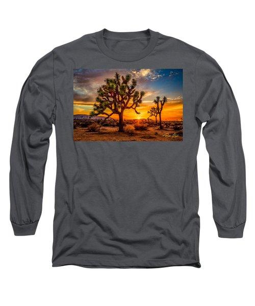 Joshua Tree Glow Long Sleeve T-Shirt