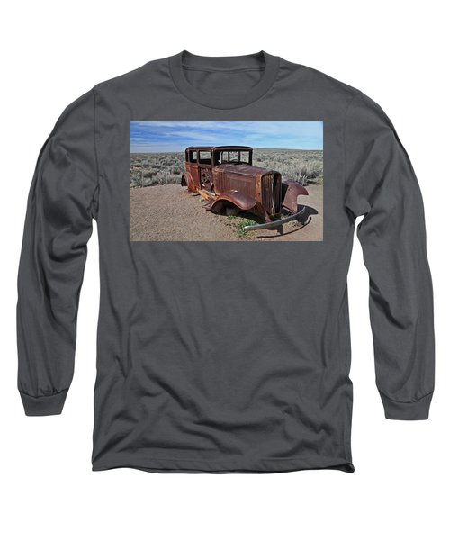 Long Sleeve T-Shirt featuring the photograph Journey's End by Gary Kaylor