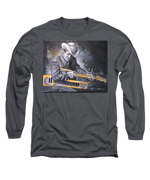 Jr. Brown Long Sleeve T-Shirt