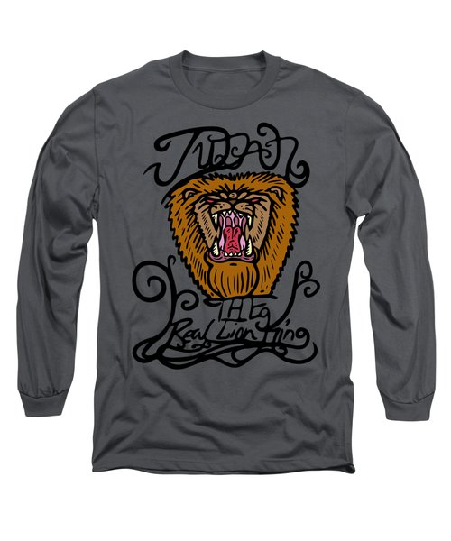 Judah The Real Lion King Long Sleeve T-Shirt