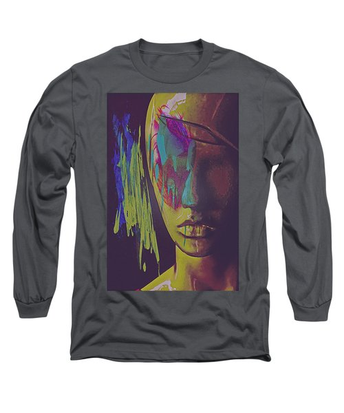 Judgement Figurative Abstract Long Sleeve T-Shirt