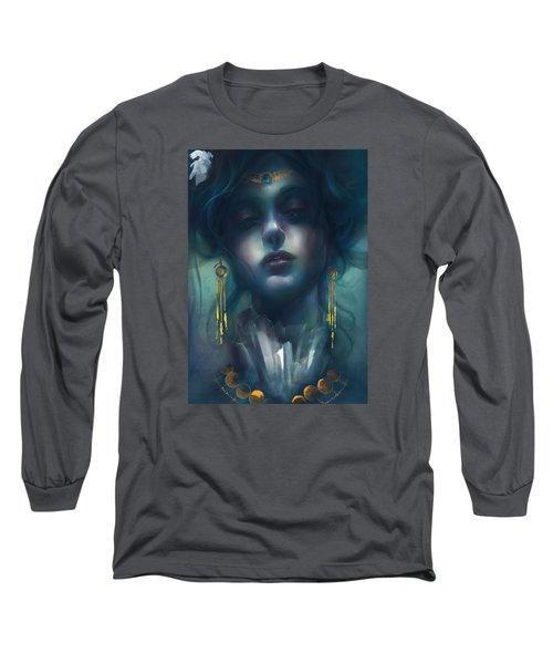 Judith V1 Long Sleeve T-Shirt by Te Hu