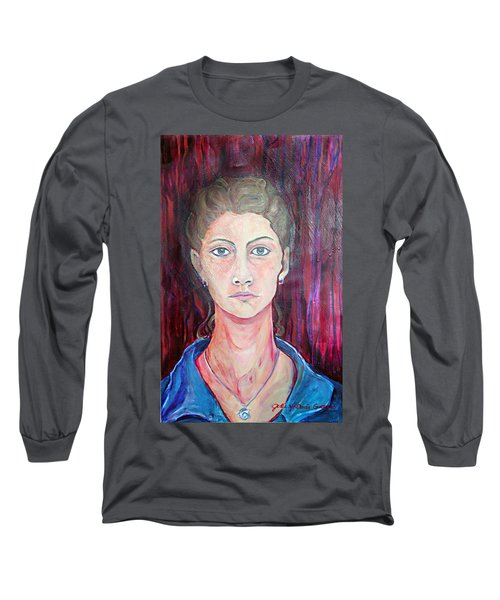 Julie Self Portrait Long Sleeve T-Shirt