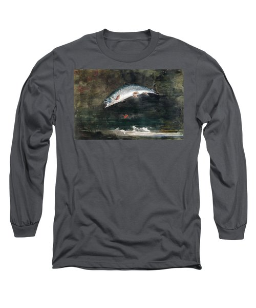 Jumping Trout Long Sleeve T-Shirt