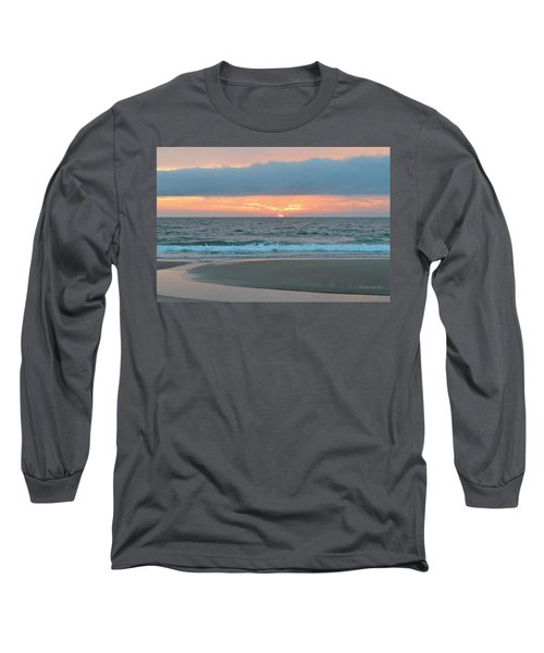 June 20 Nags Head Sunrise Long Sleeve T-Shirt