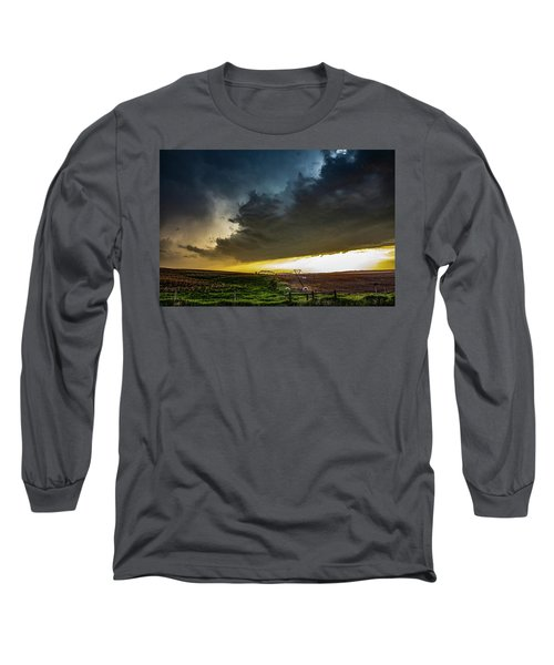 June Comes In With A Boom 005 Long Sleeve T-Shirt