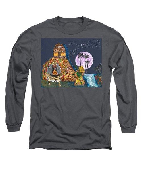 June  Shaman And Priestess  Long Sleeve T-Shirt