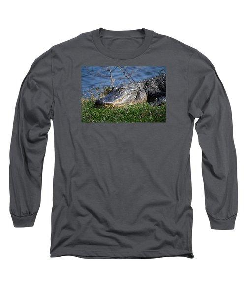 Just A Few Steps Closer Dear Long Sleeve T-Shirt by Roena King