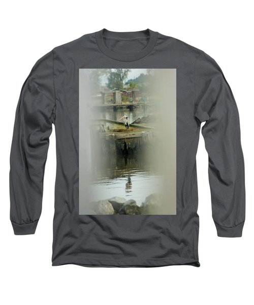 Long Sleeve T-Shirt featuring the photograph Just A Little Older With A Little More Grey... by John Glass