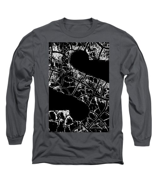 Long Sleeve T-Shirt featuring the photograph Just An S by Wendy Wilton