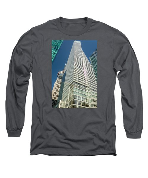 Just Another Skyscraper Long Sleeve T-Shirt by Sabine Edrissi