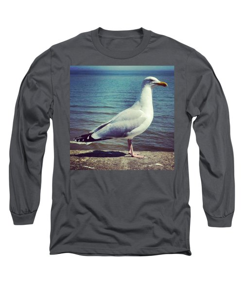 Just Chillin #seagull Long Sleeve T-Shirt