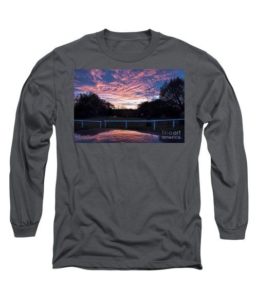 Just Had To Stop Long Sleeve T-Shirt by David  Hollingworth