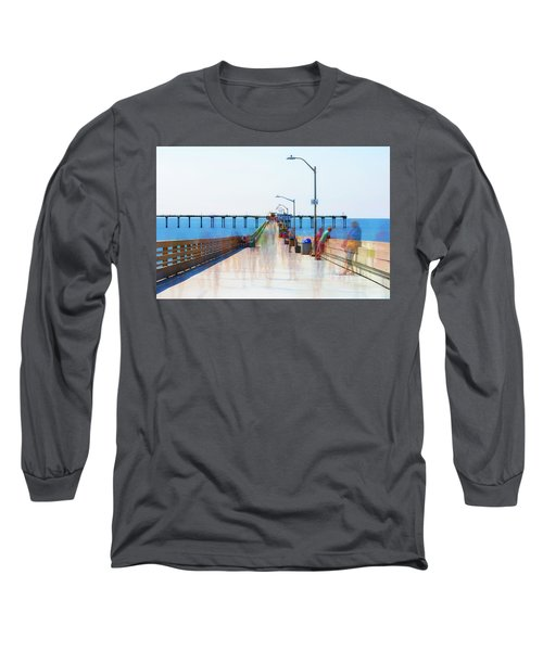 Just Hanging Out In The Summertime Long Sleeve T-Shirt by Joseph S Giacalone