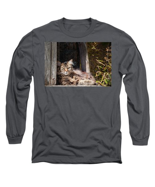 Just Lazing Around Long Sleeve T-Shirt