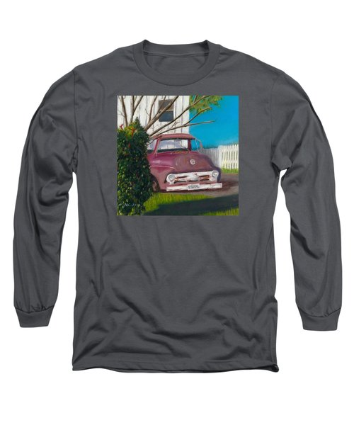 Just Up The Road Long Sleeve T-Shirt by Arlene Crafton