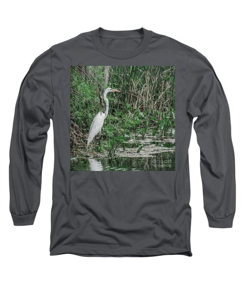 Just Wading Around Long Sleeve T-Shirt