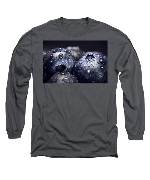 Just Washed Long Sleeve T-Shirt by Happy Home Artistry