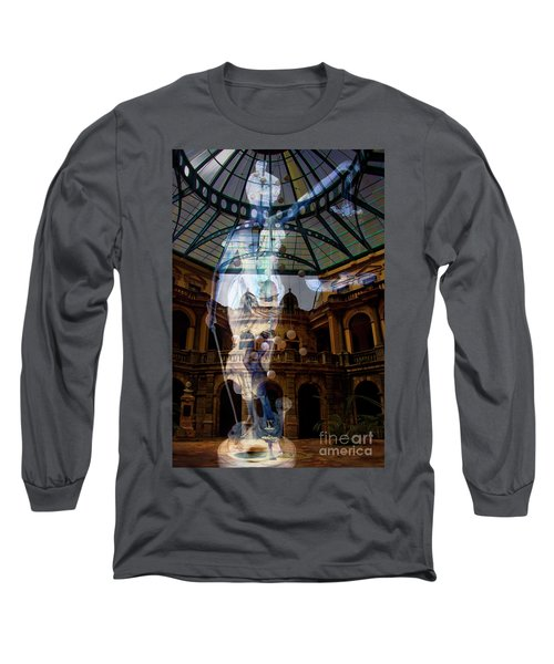 Long Sleeve T-Shirt featuring the photograph Justice Is Blind by Al Bourassa