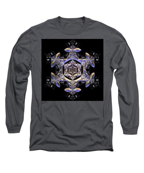 Long Sleeve T-Shirt featuring the digital art Jyoti Ahau 198 by Robert Thalmeier