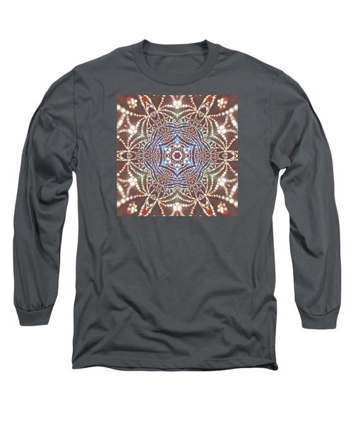 Long Sleeve T-Shirt featuring the digital art Jyoti Ahau 6 by Robert Thalmeier