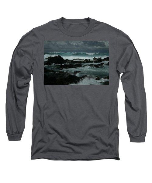 Ka Makani Kaiili Aloha Hookipa Maui Hawaii  Long Sleeve T-Shirt