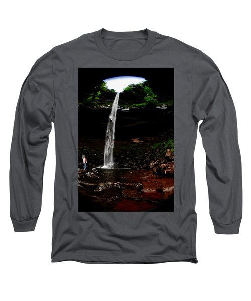 Kaaterskill Falls Long Sleeve T-Shirt