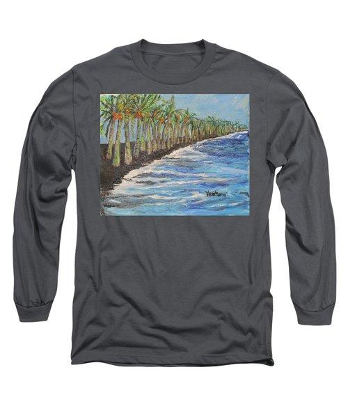 Kalapana Beach Long Sleeve T-Shirt