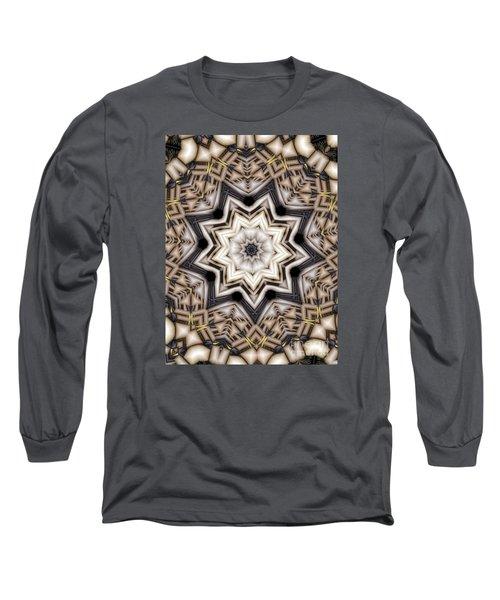 Kaleidoscope 110 Long Sleeve T-Shirt by Ron Bissett