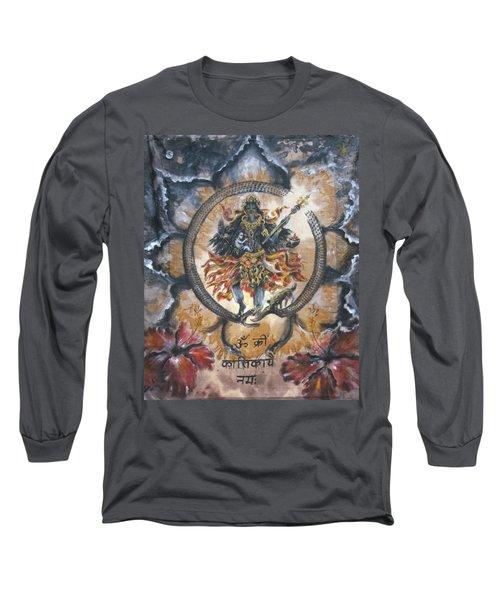 Kali And Ouroboros  Long Sleeve T-Shirt