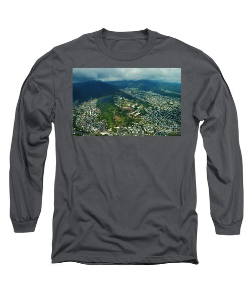 Kamehameha School Kapalama Long Sleeve T-Shirt by Craig Wood