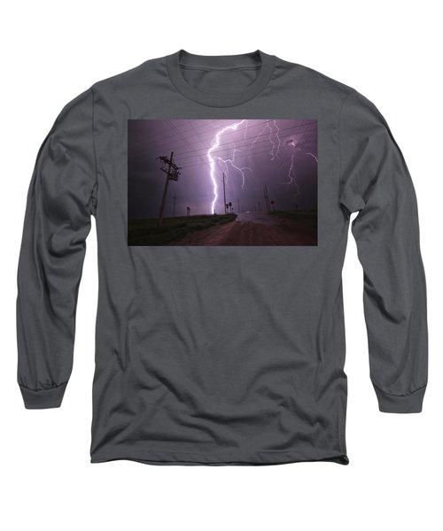 Kansas Lightning Long Sleeve T-Shirt