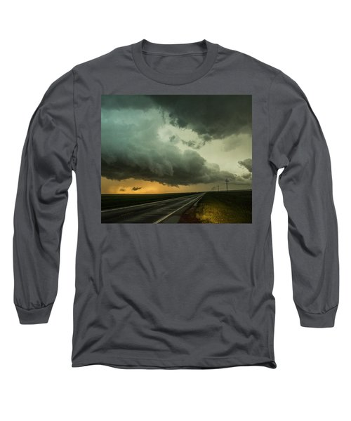 Kansas Storm Chase Bust Day 004 Long Sleeve T-Shirt