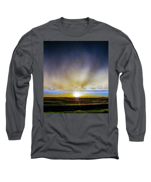 Kansas Storm Chase Bust Day 005 Long Sleeve T-Shirt