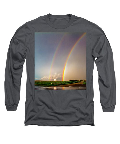 Kansas Storm Chase Bust Day 007 Long Sleeve T-Shirt