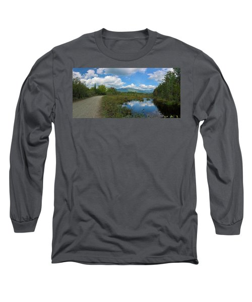Katahdin In The Clouds Long Sleeve T-Shirt