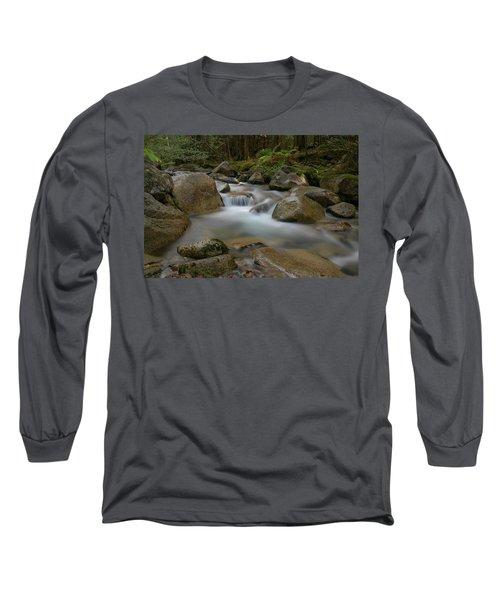 Katahdin Stream Cascades Long Sleeve T-Shirt