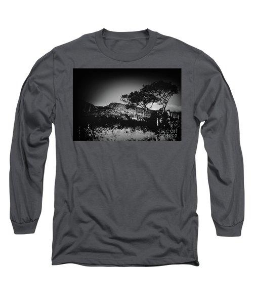 Kaupo Gap East Maui Hawaii Long Sleeve T-Shirt by Sharon Mau