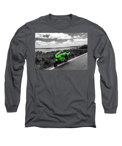 Kawasaki Ninja Zx-6r 2 Long Sleeve T-Shirt