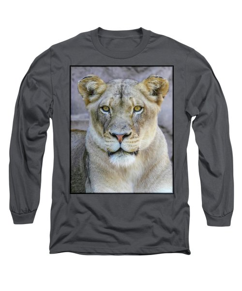 Kaya Portrait Long Sleeve T-Shirt