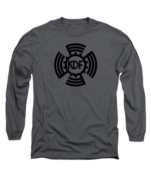 Kdf Sunwheel Logo Long Sleeve T-Shirt