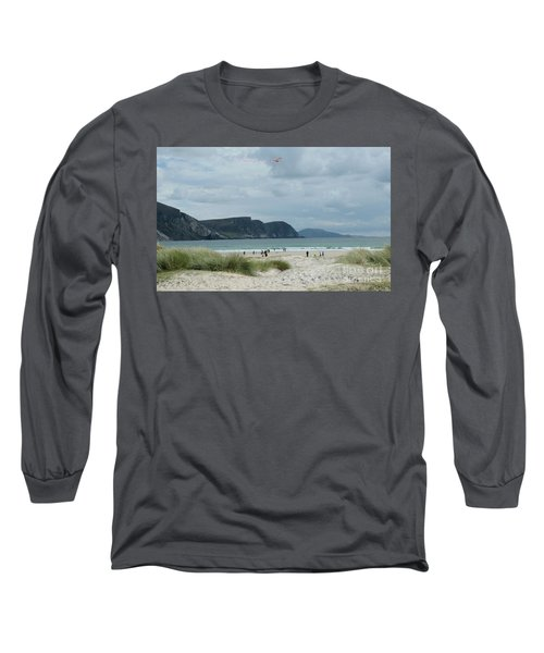 Keel Beach Achill  Long Sleeve T-Shirt