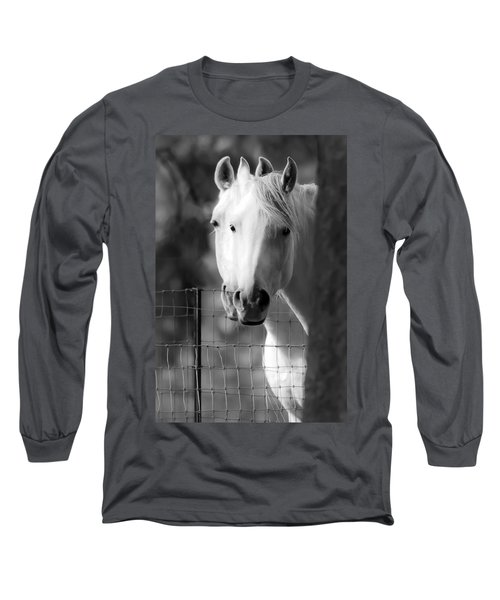 Keeping Their Eyes On Us Long Sleeve T-Shirt by Wes and Dotty Weber