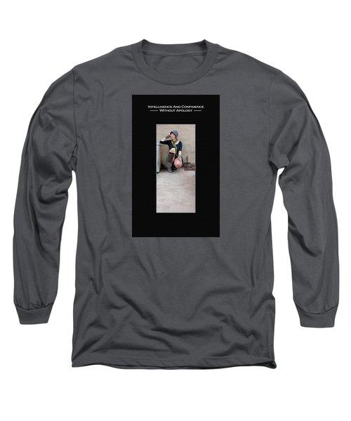 Kellie Peach 3-52 Long Sleeve T-Shirt by David Miller