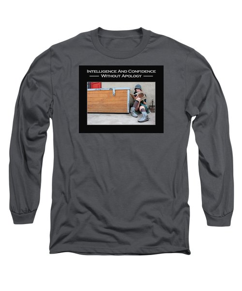 Kellie Peach 4-60 Long Sleeve T-Shirt by David Miller