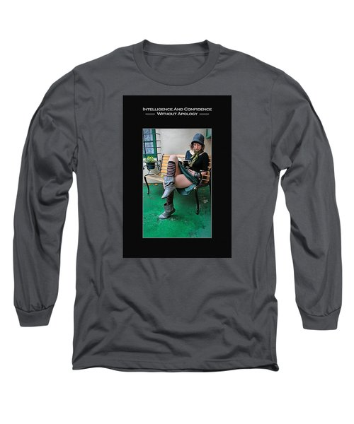 Kellie Peach 6-73 Long Sleeve T-Shirt by David Miller