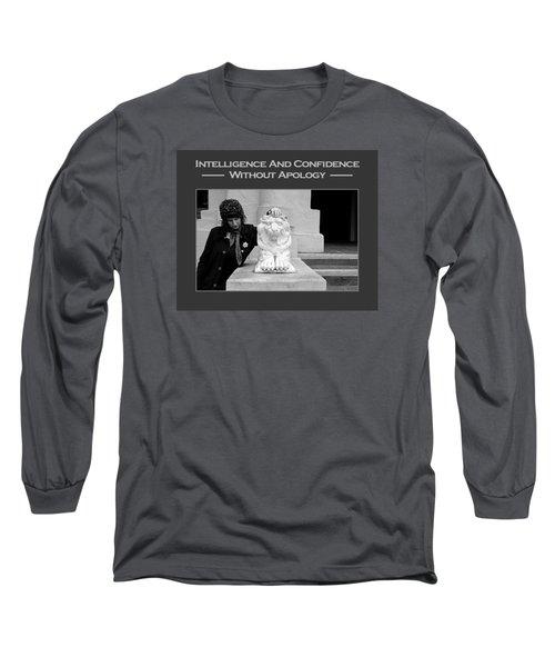 Kellie Peach 7-87 Long Sleeve T-Shirt by David Miller